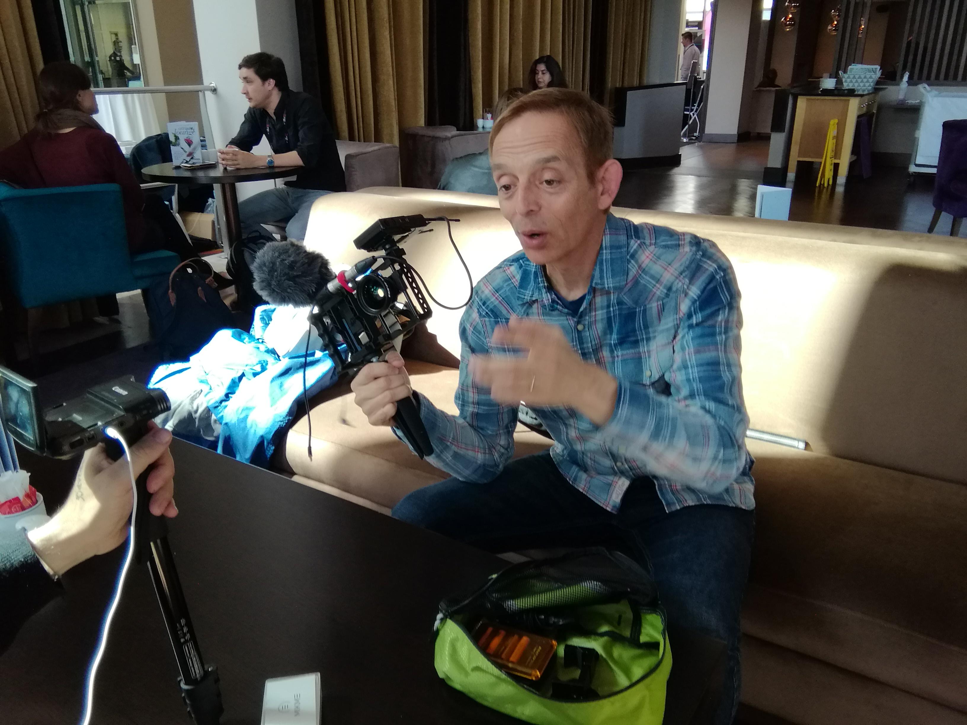 Michael Castellucci intervistato da Francesco Facchini