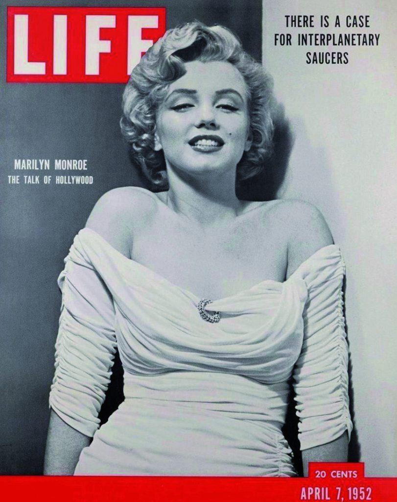 Marilyn copertina Life